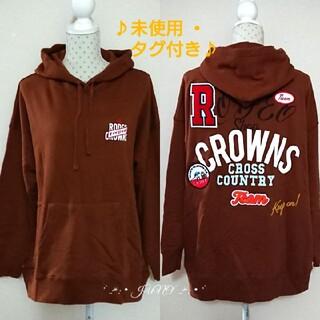 ロデオクラウンズワイドボウル(RODEO CROWNS WIDE BOWL)のWミックスパッチフーディ♡RODEO CROWNS ロデオクラウンズ(パーカー)