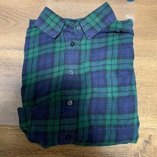 UNIQLO - ユニクロのシャツグリーン