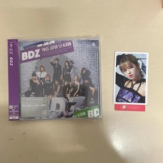ウェストトゥワイス(Waste(twice))のTWICE BDZ CD ONCE盤 FC盤 ハイタッチ券 ジョンヨン トレカ(K-POP/アジア)