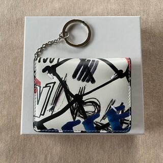 Maison Martin Margiela - 白新品 メゾン マルジェラ グラフィティキーリング 折り財布カードケース