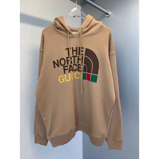Gucci - 新品同様 Gucci ノースフェイス コラボパーカー スウエットシャツ メンズ