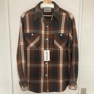 WACKO MARIA - 極美品 キムタク着用 WACKO MARIA フランネルチェックシャツ L