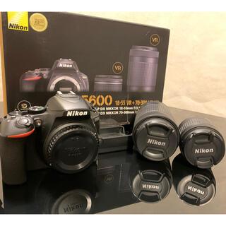 Nikon - Nikon デジタル一眼レフカメラ D5600 ダブルズームキット