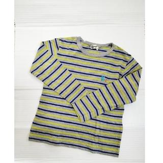 ニットプランナー(KP)のKP   男児130cm ボーダーロンT 長袖Tシャツ(Tシャツ/カットソー)