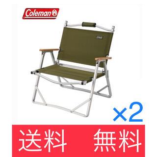 Coleman - コールマン コンパクトフォールディングチェア*2脚セット
