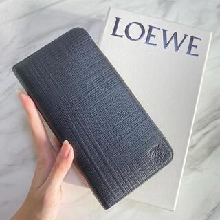 LOEWE - ラスト1【新品】LOEWE ラウンドジップ ユニセックス アナグラムロゴ 長財布