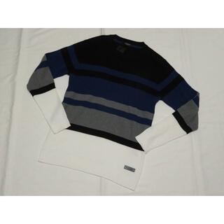 ブラックレーベルクレストブリッジ(BLACK LABEL CRESTBRIDGE)のブラックレーベル クレストブリッジ 長袖薄手ニットセーターM 春秋18000円(ニット/セーター)
