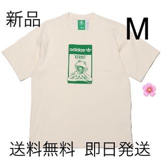 adidas - 新品未使用 Mサイズ アディダス カーミット 半袖 Tシャツ ホワイト
