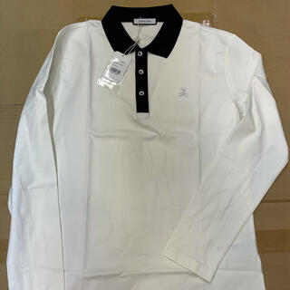 マークアンドロナ(MARK&LONA)の新品未使用 MARK&LONA(マーク&ロナ) メンズ 長袖ポロシャツ L(ウエア)