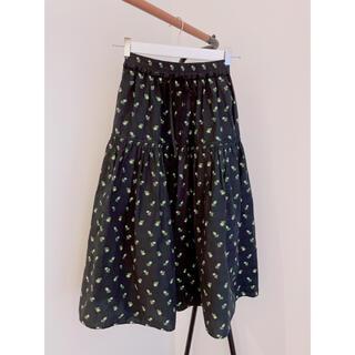 ドゥロワー(Drawer)のcecilie bahnsen Flower skirt(ロングスカート)