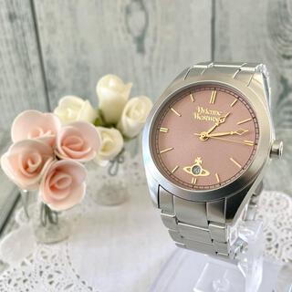 Vivienne Westwood - 【動作OK】vivienne ヴィヴィアン 腕時計 シルバー デイト