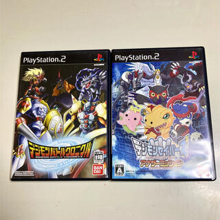 PlayStation2 - PS2  デジモン 2本セット