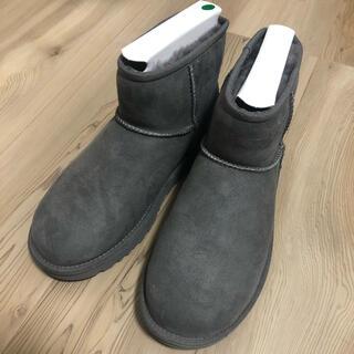 アグ(UGG)の【新品・未使用】24cm UGG クラシックミニ グレー(ブーツ)