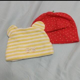 エイチアンドエム(H&M)のH&M等 ベビー帽子 セット  ベビーキャップ 50cm 60cm(帽子)