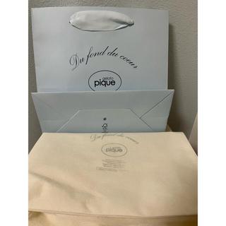 gelato pique - ジェラートピケ 紙袋 ラッピング袋