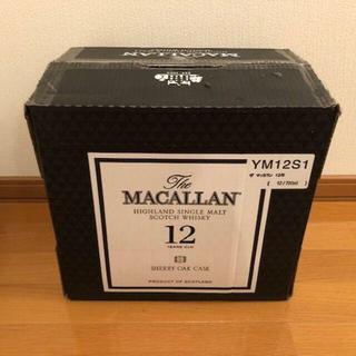 マッカラン12年 12本 シェリーオークカスク 元箱付