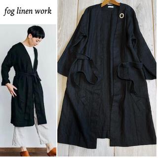 フォグリネンワーク(fog linen work)のfog linen work 試着のみ   MELANIE 高密度COAT(ロングワンピース/マキシワンピース)