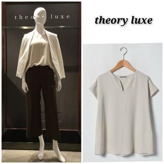 Theory luxe - 【美品 ※少し訳あり】価格26400円 セオリーリュクス とろみブラウス