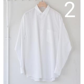 COMOLI - 新品■21AW COMOLI シャツ 新型 2 ホワイト 白