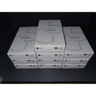 SHARP - AQUOS Sense 5g au SIMフリー ブラック 9台 新品未開封