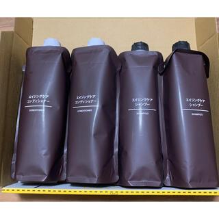 ムジルシリョウヒン(MUJI (無印良品))の新品未使用 無印良品 エイジングケアシャンプー エイジングケアコンディショナー(シャンプー)