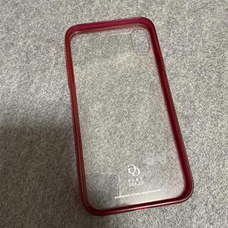 ELECOM - iPhoneXR用ガラスケース【中古】