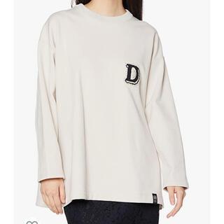 ダブルスタンダードクロージング(DOUBLE STANDARD CLOTHING)のダブスタ 裏起毛 オーバーサイズ トレーナー スウェットプルオーバー(トレーナー/スウェット)
