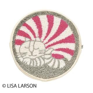 リサラーソン(Lisa Larson)のリサ・ラーソン おやすみルドルフ 円形ポーチ(ポーチ)