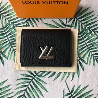 LOUIS VUITTON - ルイヴィトン ポルトフォイユ・ツイスト コンパクト 三つ折り財布 エピ