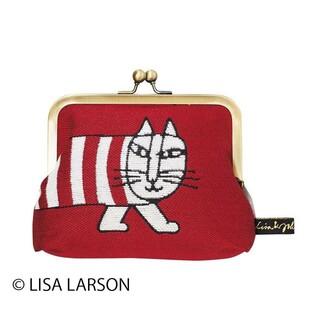 リサラーソン(Lisa Larson)のリサ ラーソン ルックマイキー  口金ポーチ(ポーチ)
