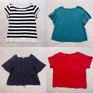 IENA - IENA トップス 4点セット Tシャツ ブラウス