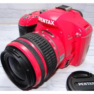 ペンタックス(PENTAX)の充実機能❤PENTAX k-x❤️WiFi転送❤カメラ女子必見❤️(デジタル一眼)