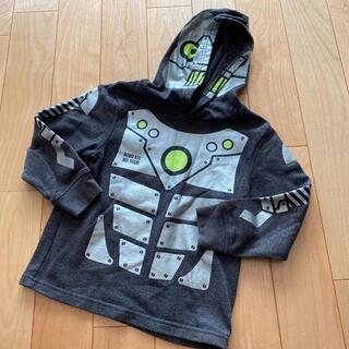 エイチアンドエム(H&M)のH&M 裏起毛 パーカー ロボット 110(Tシャツ/カットソー)
