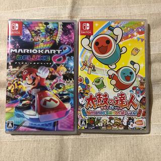 Nintendo Switch - マリオカート8 デラックス 太鼓の達人Nintendo Switchばーじょん