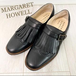 MARGARET HOWELL - 新品!マーガレットハウエル 22.5 本革 日本製 ブラック 革靴 ローファー