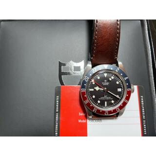 チュードル(Tudor)の美品 チューダー TUDOR ヘリテージ ブラックベイ GMT 79830RB(腕時計(アナログ))