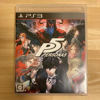 プレイステーション3(PlayStation3)のペルソナ5 PS3(家庭用ゲームソフト)