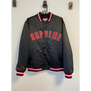 Supreme - Supreme Mitchell&Ness SatinVarsityJacket