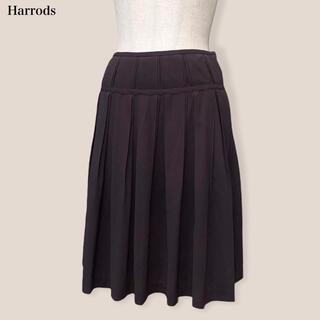 Harrods - 【Harrods】スカート  ブラウン ハロッズ