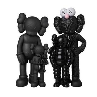 MEDICOM TOY - KAWS FAMILY BLACK フィギュア カウズ ファミリー ブラック