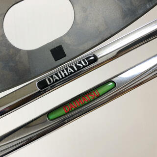 ダイハツ - ナンバーフレーム 純正 ダイハツ DAIHATSU ナンバープレート 車用 中古