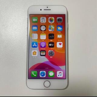 アイフォーン(iPhone)のsimフリー iPhone8 64gb 電池96% シルバー(スマートフォン本体)