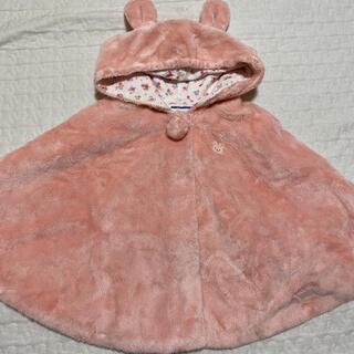 ミキハウス(mikihouse)のミキハウス MIKIHOUSE ポンチョ ベビーアウター アウター ベビー服(ジャケット/コート)