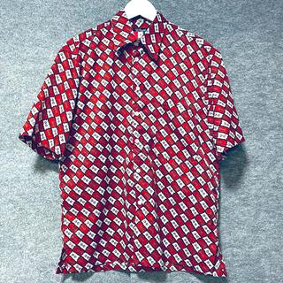 BEAMS - USA製 ビームス 柄シャツ 半袖シャツ アロハシャツ
