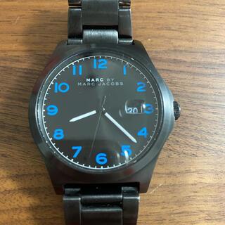 マークバイマークジェイコブス(MARC BY MARC JACOBS)のマークジェイコブズ 時計 青(腕時計(アナログ))