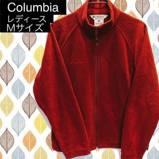 コロンビア(Columbia)の【Columbia】コロンビア フリース US古着 レディース Mサイズ(ブルゾン)