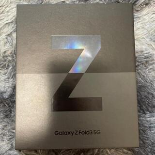 ギャラクシー(Galaxy)のマヒト専用 Galaxy Z Fold3 韓国版 256GB ブラック(スマートフォン本体)