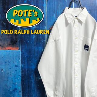 POLO RALPH LAUREN - 【ポロラルフローレン】ワンポイントイニシャル刺繍ロゴポケットシャツ