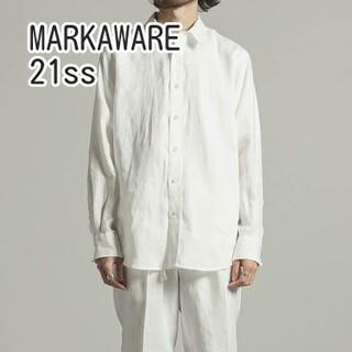 マーカウェア(MARKAWEAR)のMARKAWARE HEMP W COLLAR SHIRT ヘンプ シャツ(シャツ)