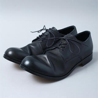 PADRONE - MB オススメ【PADRONE】DERBY PLAIN TOE SHOES